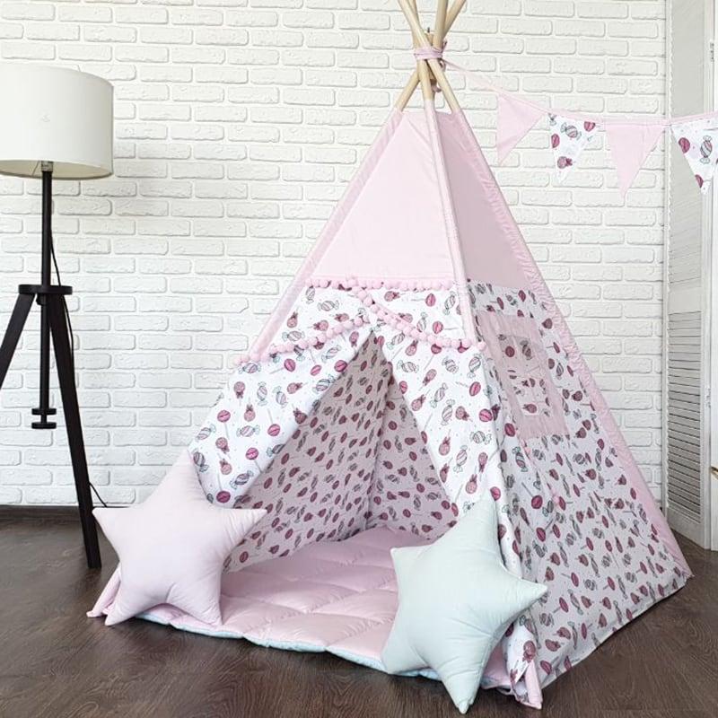 Детская палатка вигвам Любит Сладости