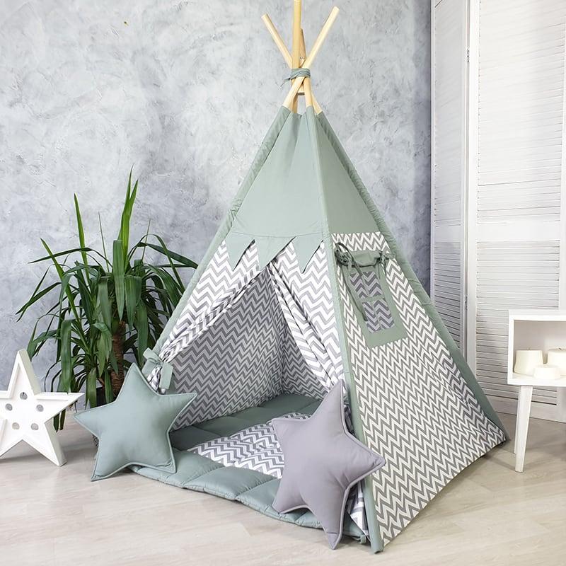 Детская палатка вигвам Дождь в Лицо