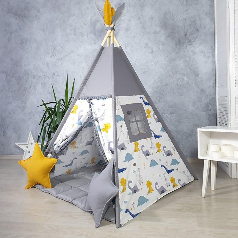 Детская палатка вигвам Пернатый Змей
