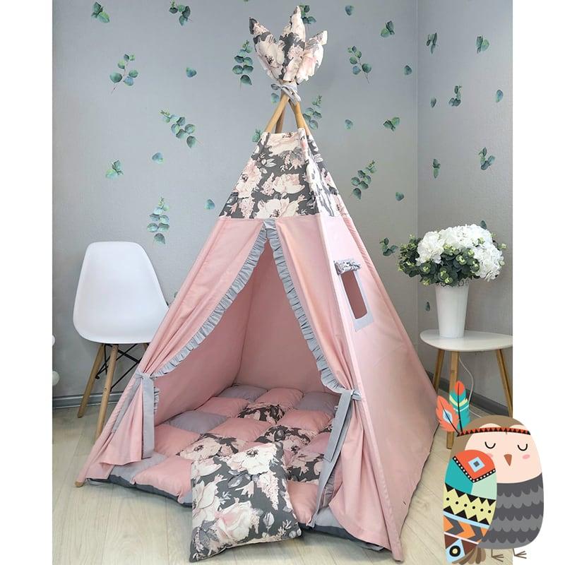 Дитяча палатка вігвам Долина Квітів