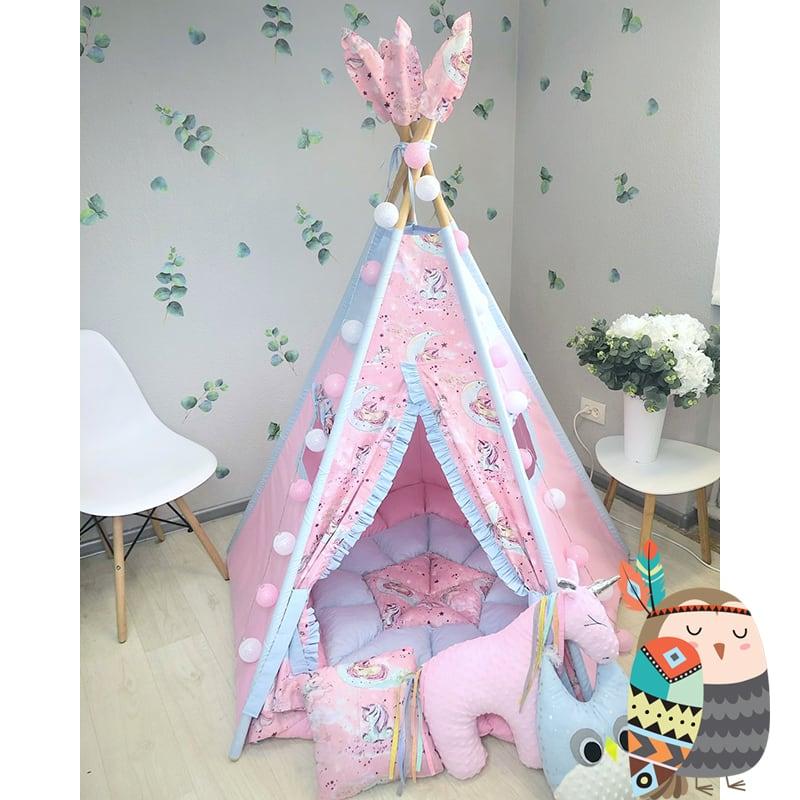 Дитяча палатка вігвам Дух Білого Коня