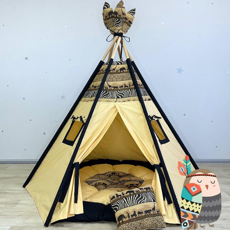Детская палатка вигвам Великий Охотник Маниту