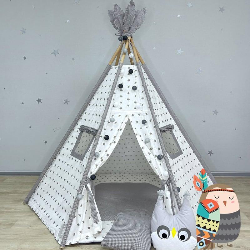 Детская палатка вигвам Дух Снежной Совы