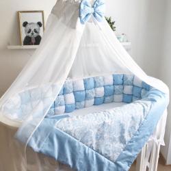 Авторські бортики для дитячого ліжечка – модно і практично