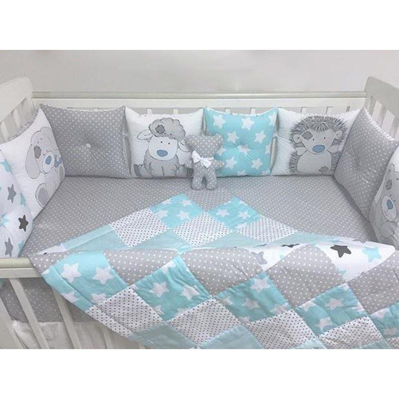 Защитные бортики в кроватку Мамины Игрушки