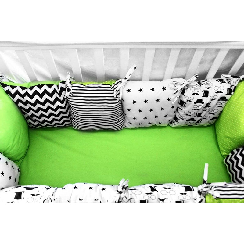 Захисні бортики в ліжечко Маленький Денді