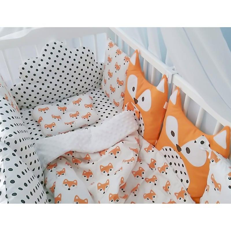 Защитные бортики для детской кроватки Мистер Фокс