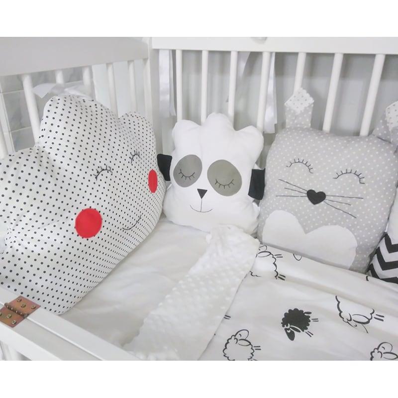 Захисні бампери в ліжечко новонародженого Казка від Панди