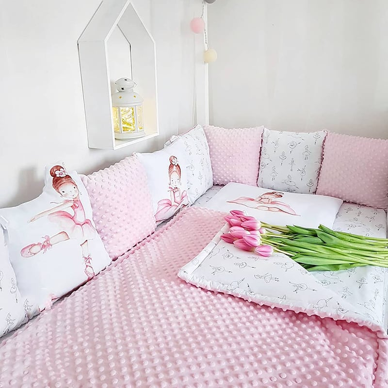 Бортики для кроватки Маленькая Танцовщица