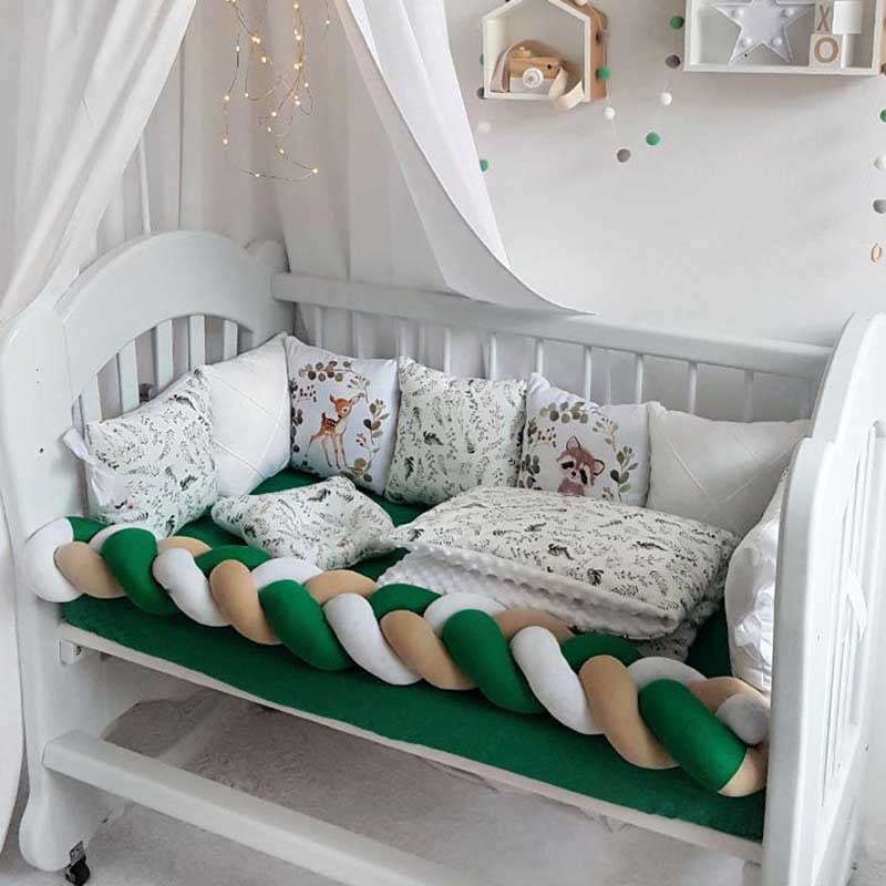 Бортики в ліжечко новонародженого Ельфійська Казка