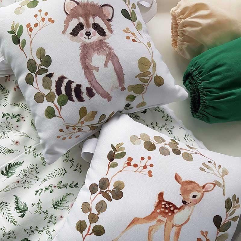 Бортики в кроватку новорожденному Эльфийская Сказка