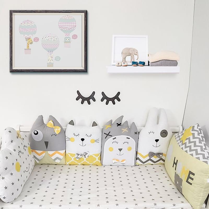 Защитные бортики в кроватку для новорожденных Мамина Сказка