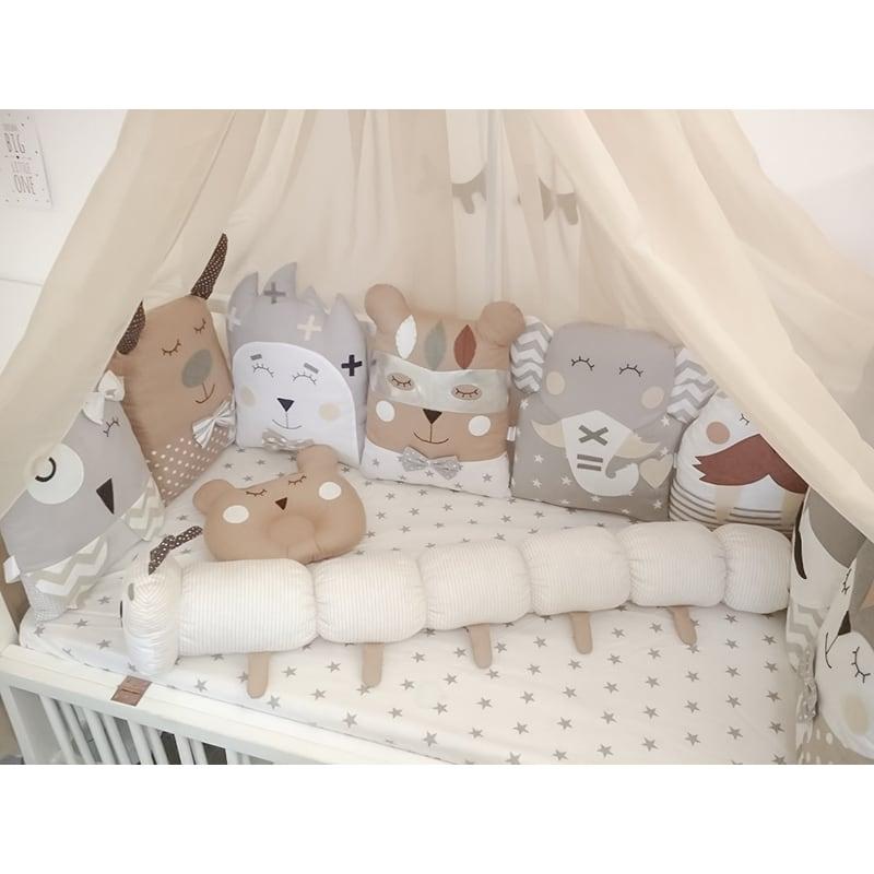 Захисні бампери в ліжечко новонародженого Місячна Принцеса