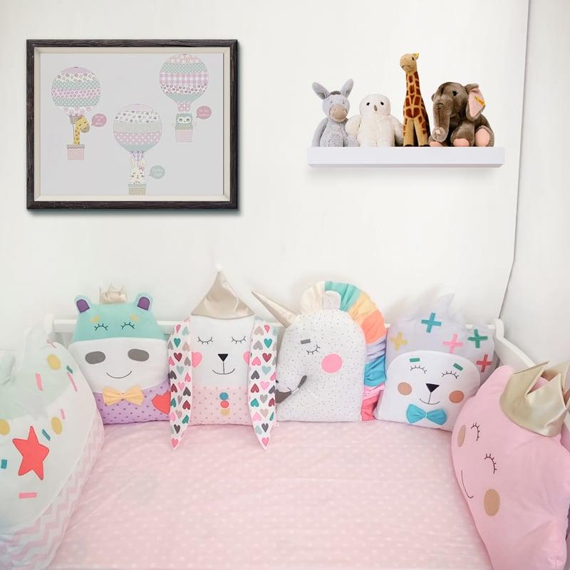 Дитячі бортики в ліжечко Чарівний Цирк