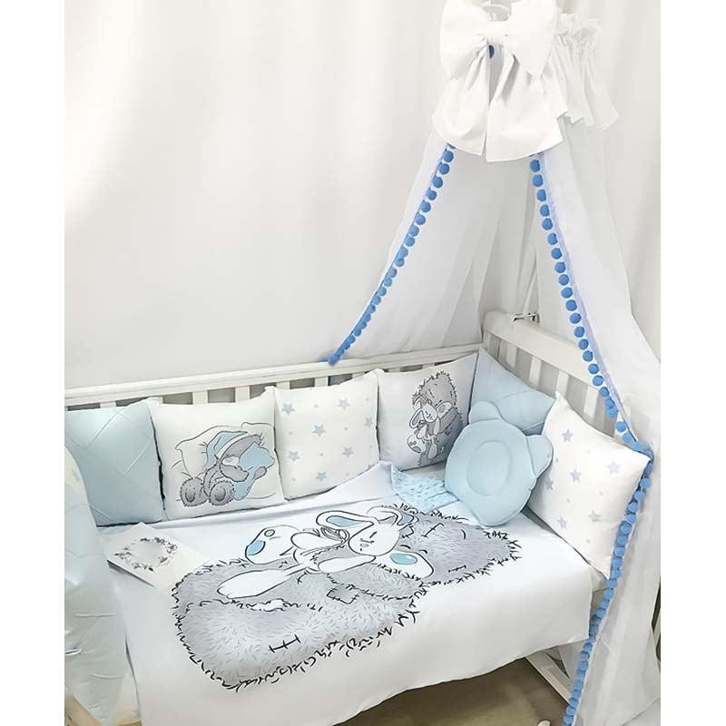 Бортики в ліжечко хлопчику Мій Милий Тедді