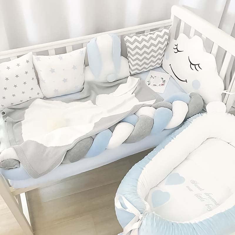 Бортики в кроватку мальчику Кролик Роджер