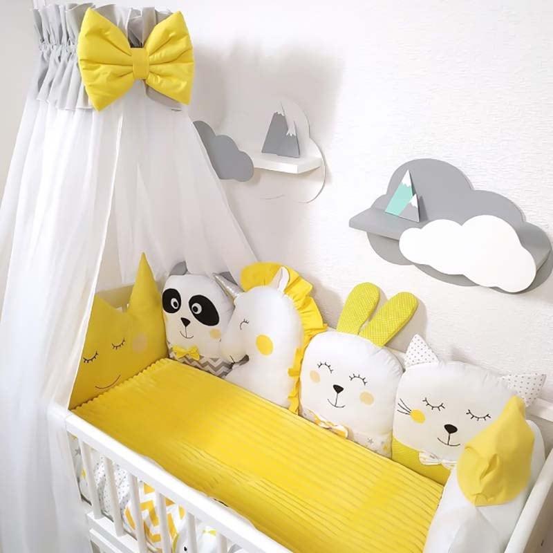Бортики в кроватку новорожденному Цветочные Сны