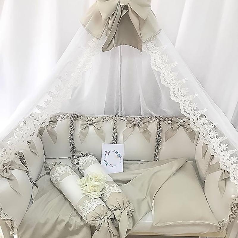 Бортики в ліжечко Срібна Лисиця