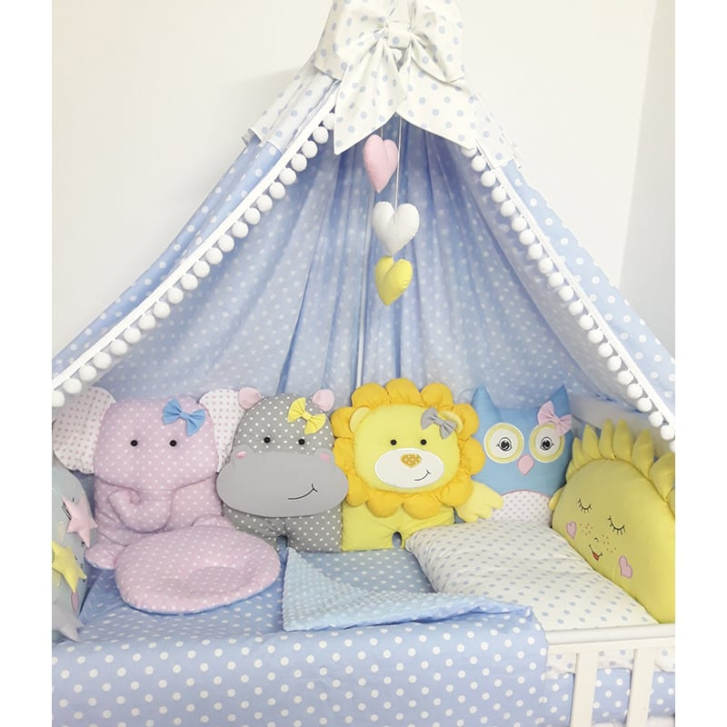 Бортики в кроватку новорожденному Мои Лучшие Друзья