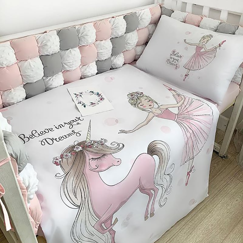 Бортики на кроватку Маленькая Фея