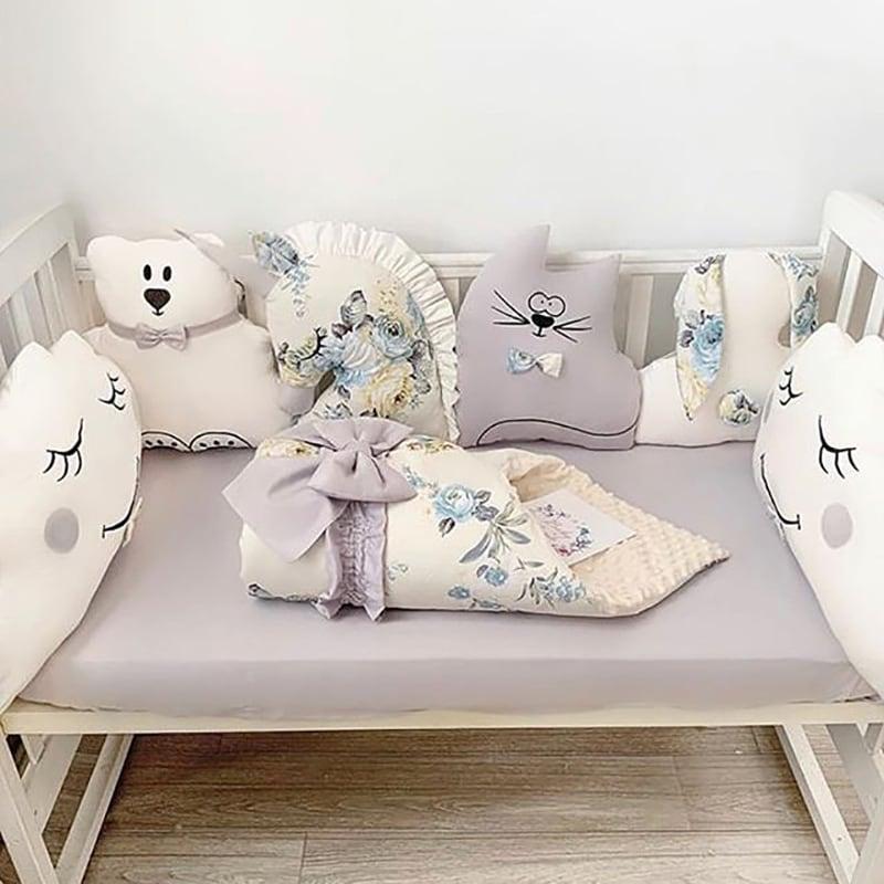 Бортики в ліжечко Бебі-Шик