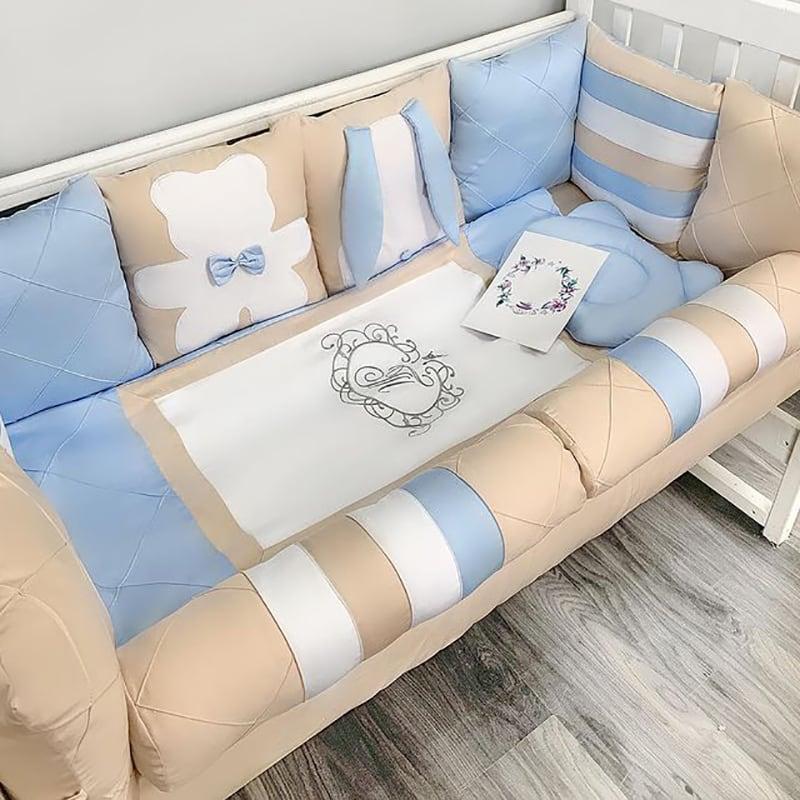Бортик дитячий в ліжечко Мамина Казка