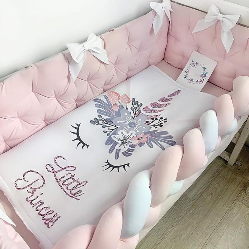 Защитный бортик для девочки Розовое Облако
