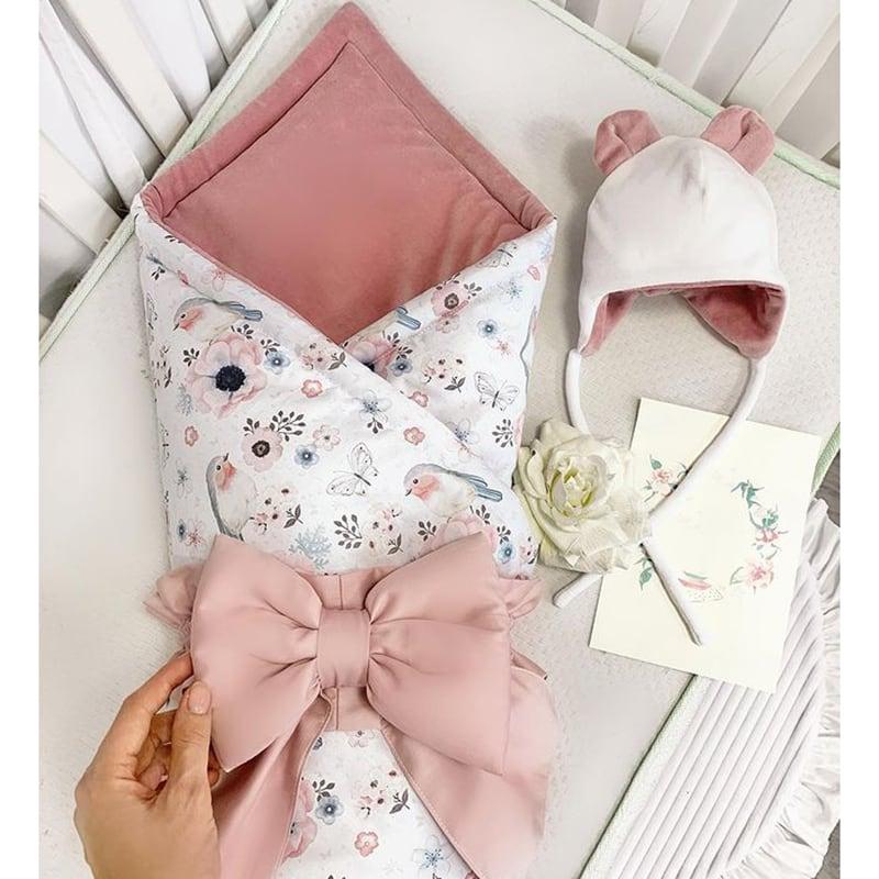 Конверт для новорожденных Розовые Ушки