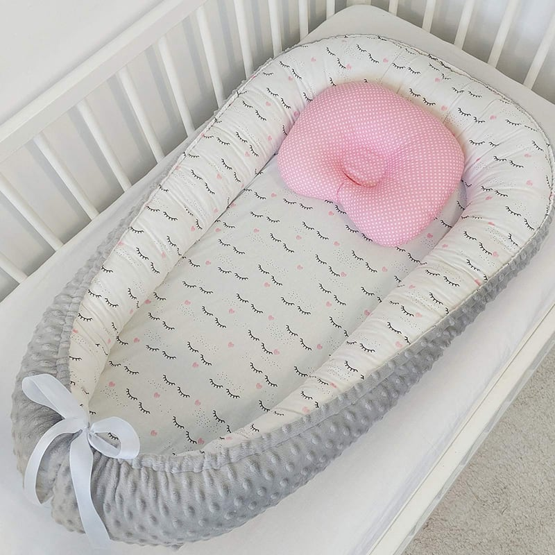 Кокон для новонародженого перлова хмаринка