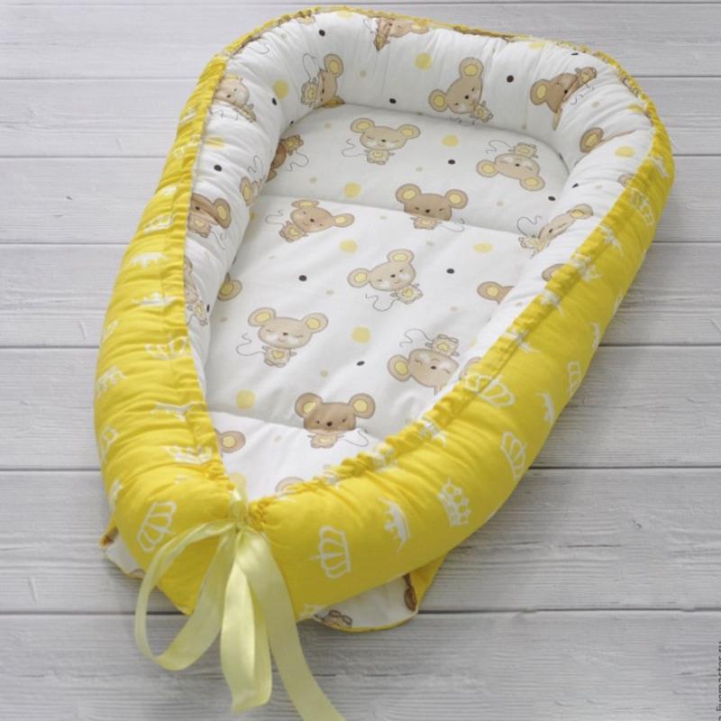Кокон для новорожденных Мышка Малышка
