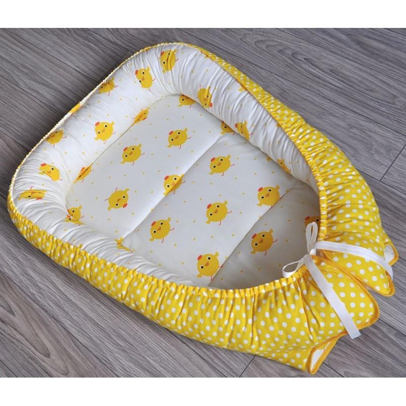Кокон для новорожденных ручной работы Солнышко