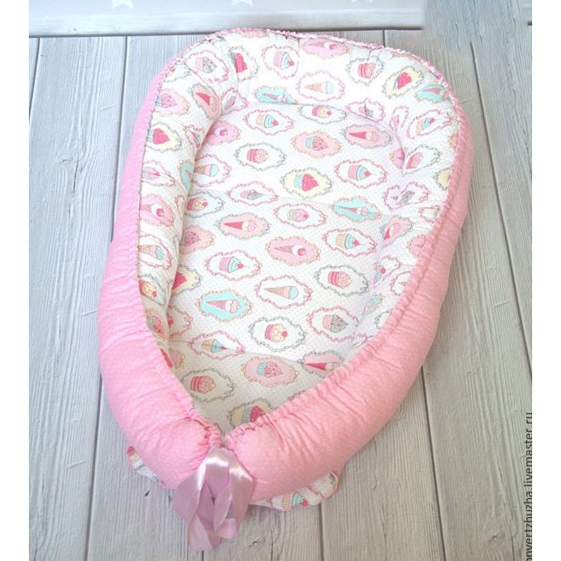 Дизайнерський кокон для новонароджених дівчаток Долина Солодощів