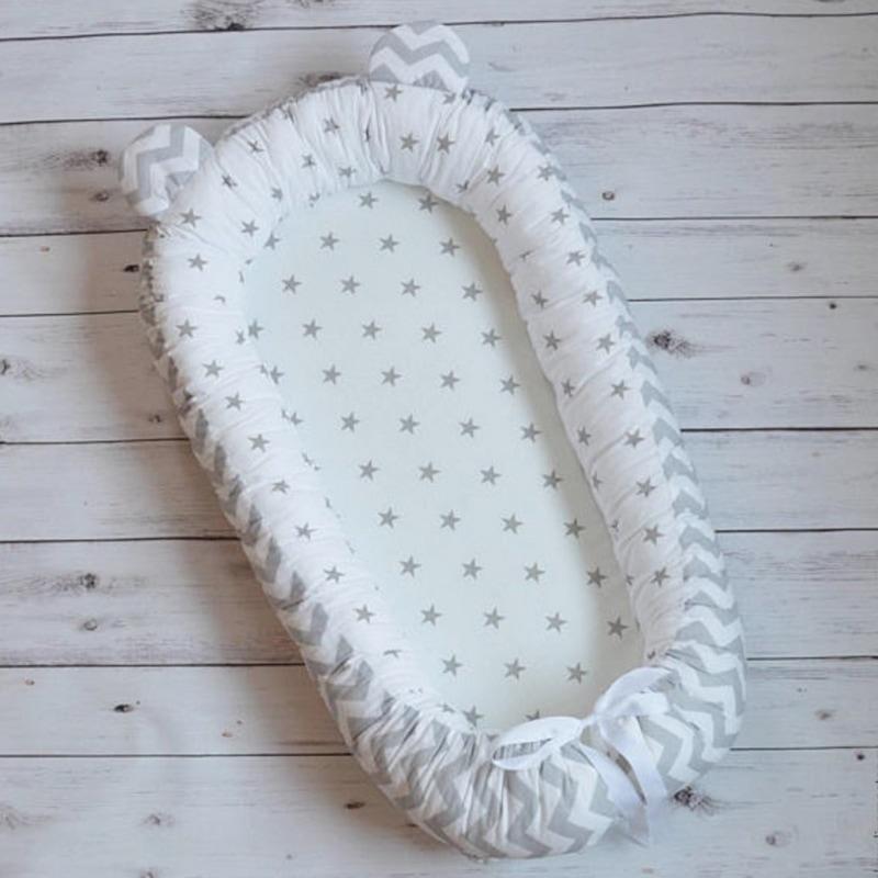 Кокон для новорожденного мальчика Ушки