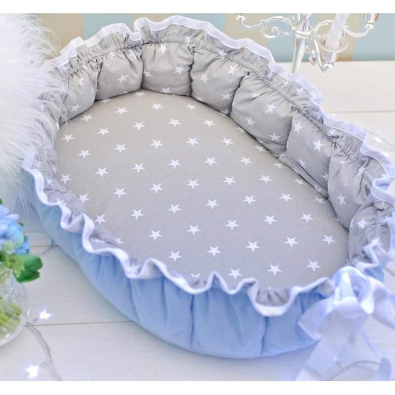 Кокон для новорожденных handmade Сказочка