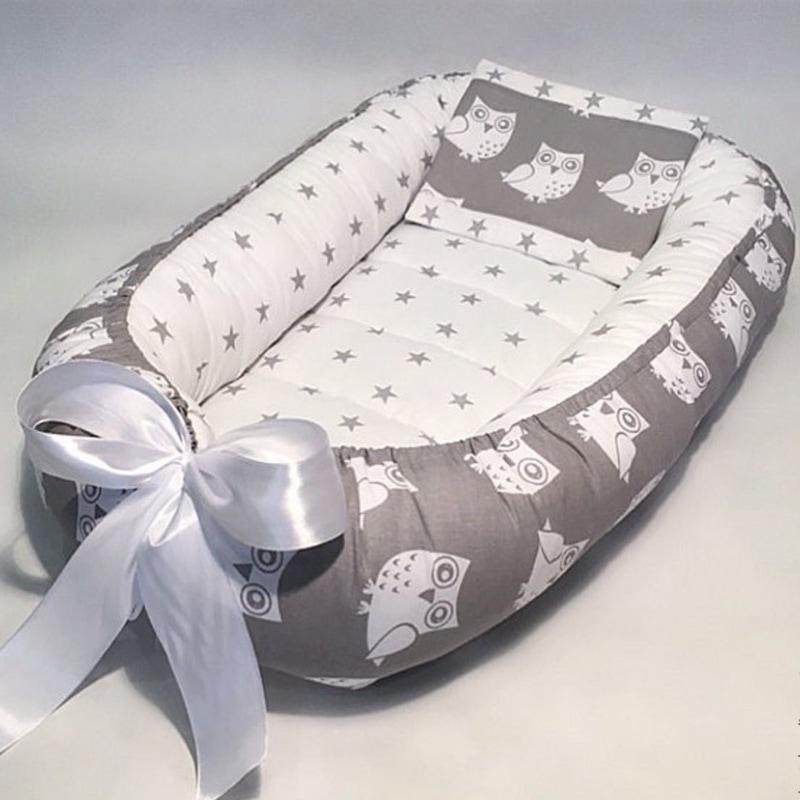 Дизайнерский кокон для новорожденных Сказка на Ночь