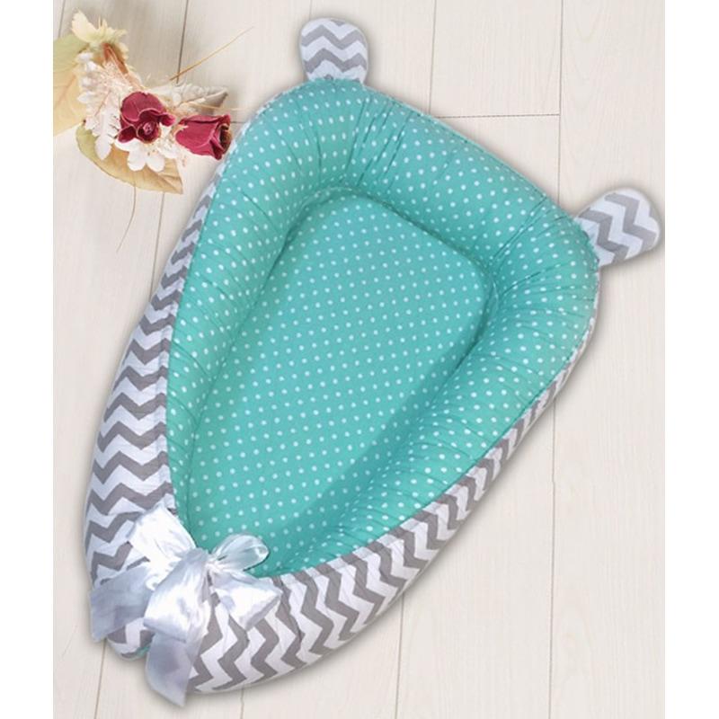 Кокон для новорожденных мальчиков Волны