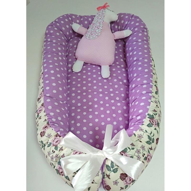 Кокон для новорожденных девочек Флора