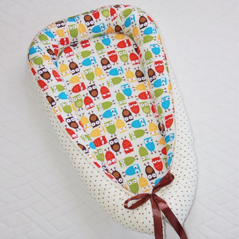 Кокон для новорожденных девочек Совушки-Подружки
