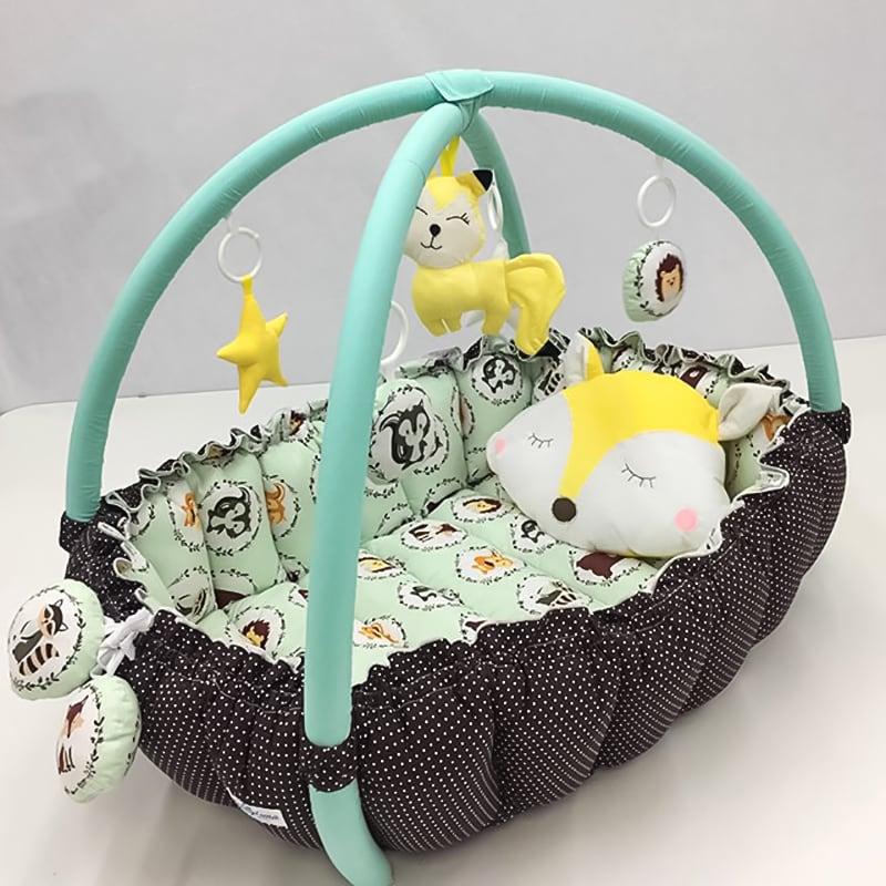 Кокон для новорожденных Хитрый Лисенок