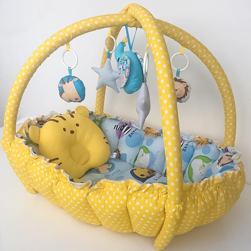 Кокон для новорожденных Сафари
