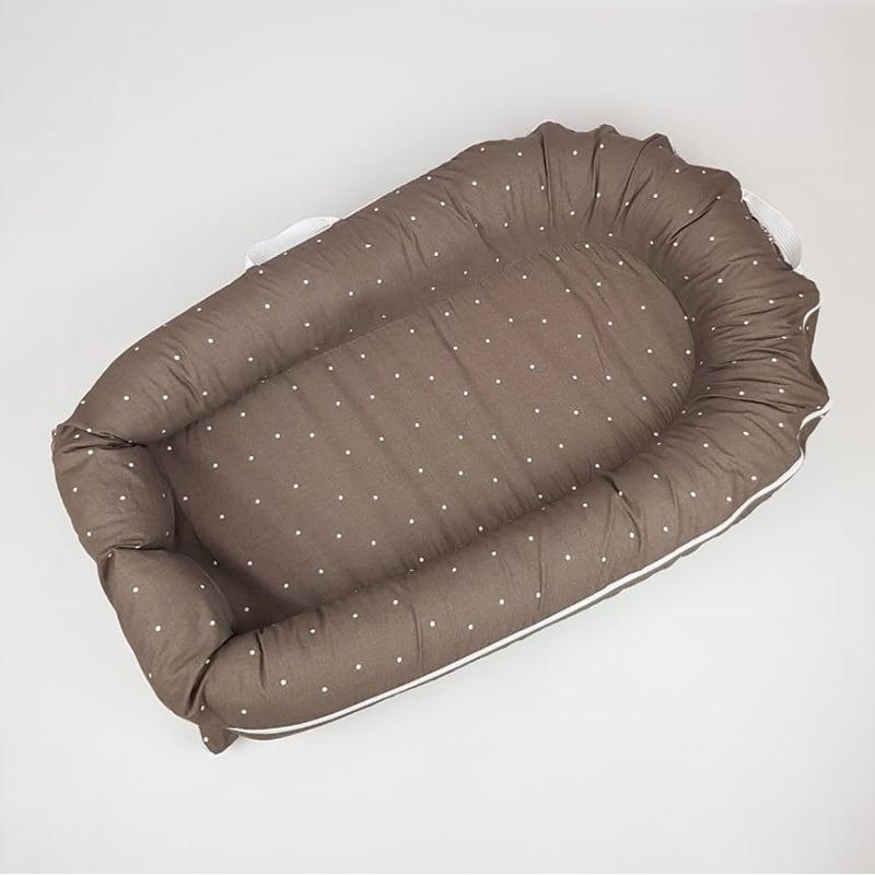 Кокон зі знімним чохлом для новонароджених Chocolate Nest