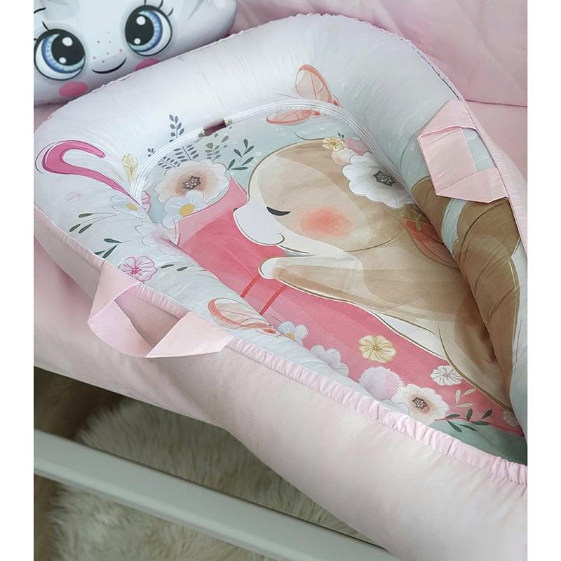 Кокон для новонародженої дівчинки Весна