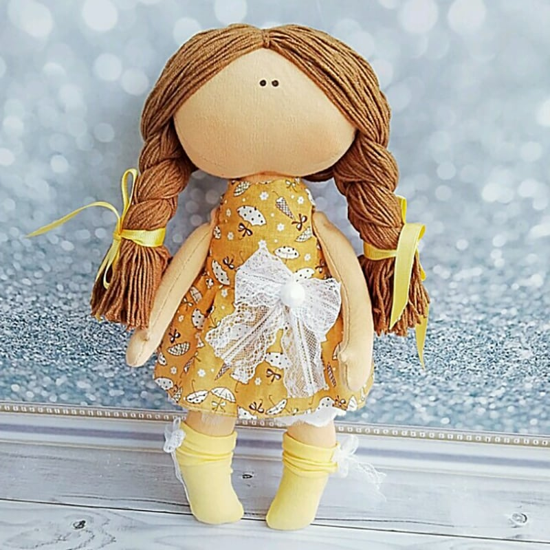 Дизайнерская коллекционная кукла Хильда