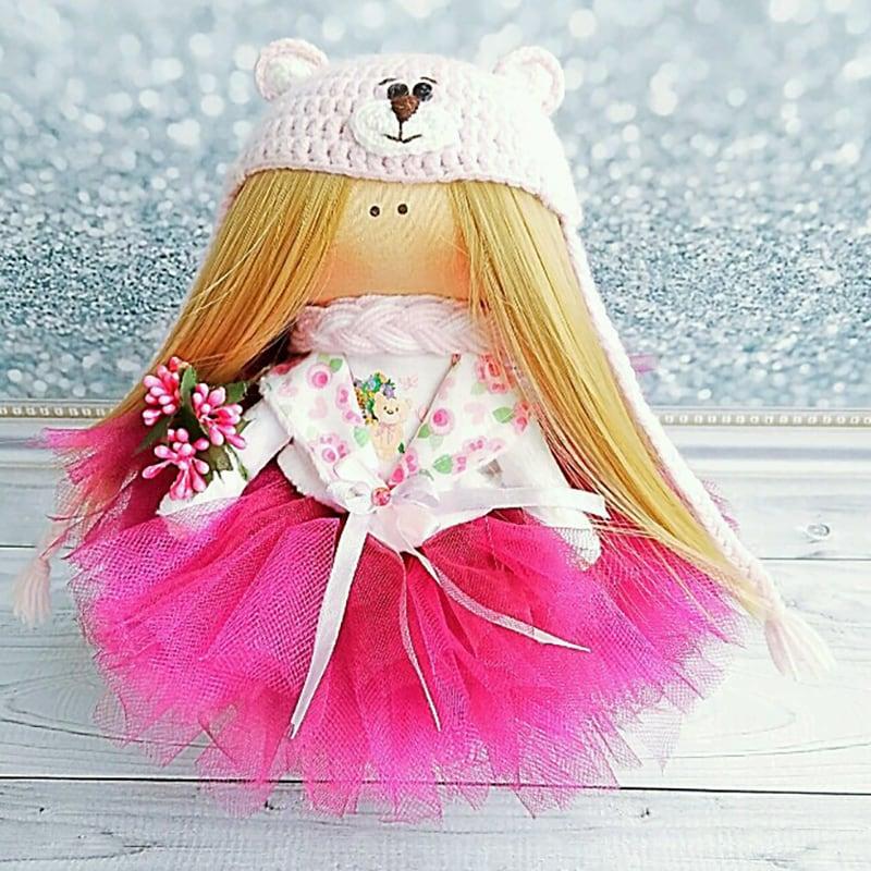 Колекційна лялька ручної роботи Емілі