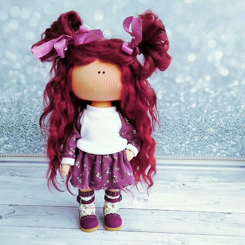 Авторская кукла тильда в подарок Ирма
