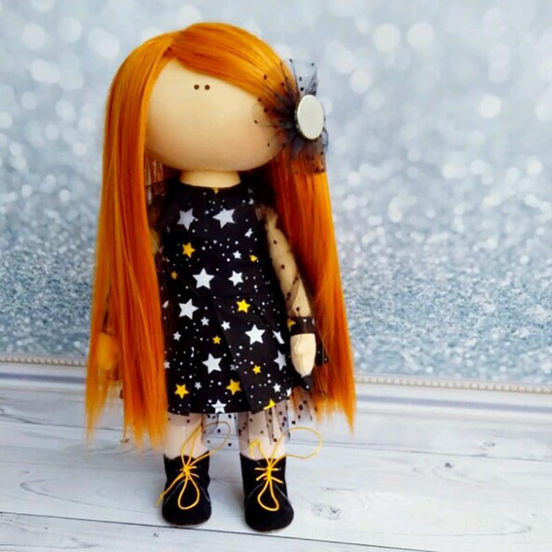 Дизайнерська лялька тільда в подарунок Катрін