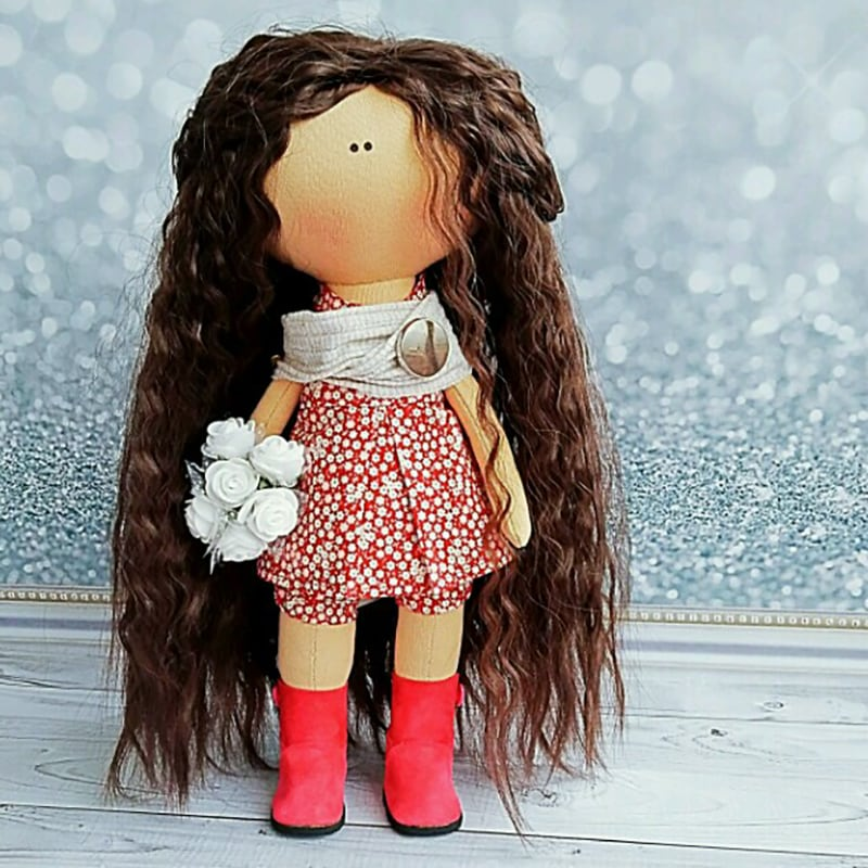 Интерьерная кукла handmade Селма