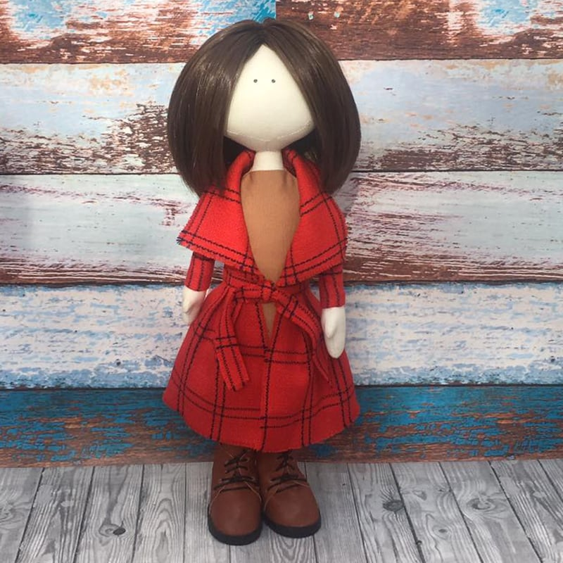 Авторська лялька тільда Емілі