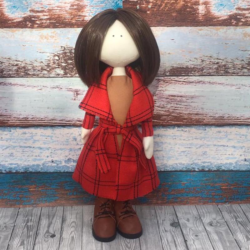 Авторская кукла тильда Эмили