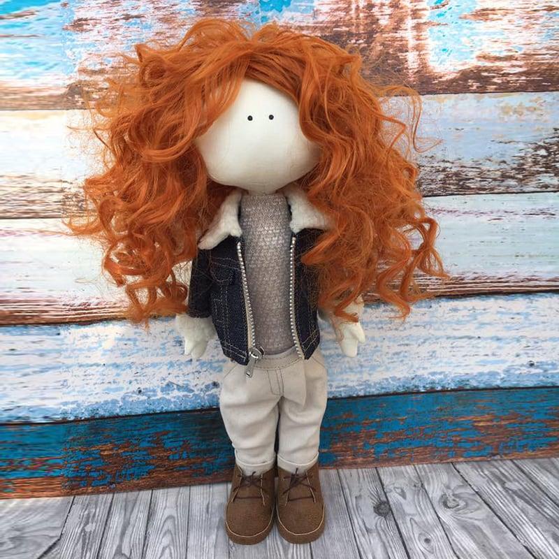 Дизайнерская кукла тильда Соня